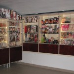 Exhibition cabinets